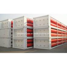 8 газовых водородных (GH2) трубчатых контейнеров