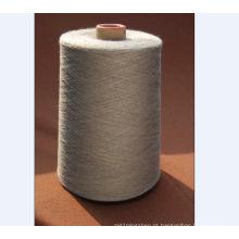 Fio de algodão de confecção de malhas da tela da cor cinzenta de Ne16 / 1 OE