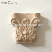 Carved Column Traditional Wood Capitals