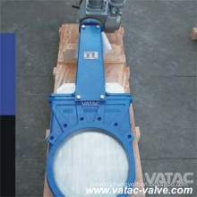 Electric Actuator Wafer Knife Gate Valve