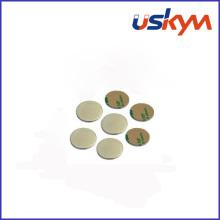Imanes de neodimio de disco con adhesivo (D-005)