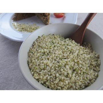 Graine de chanvre décortiquée Min 55% de teneur en huile