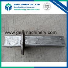 Jaqueta de água de aço inoxidável / ferramentas de fundição contínua / peças de reposição