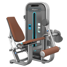 Máquina sentada de la fuerza del enrollamiento de la pierna