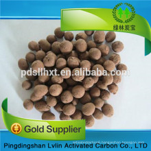China Supplier Spherical Expanded Clay / Ceramsite Sand