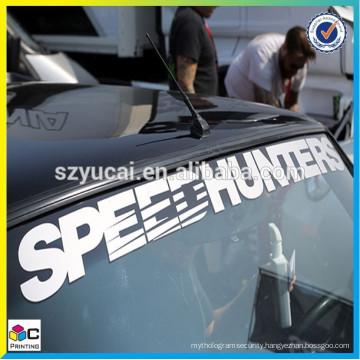 waterproof PVC material car decal car body sticker