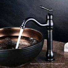 2019 Wenzhou YiLi Sanitary ware supplier Hot sale Black color bathroom basin faucet