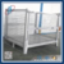 Palette de cage de roulement de stockage de marchandises en acier