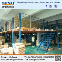 Assoalho de mezanino de aço de armazenamento de alta densidade