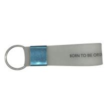 Personalize Logo Keyring Circle Hand Silicone Bracelets