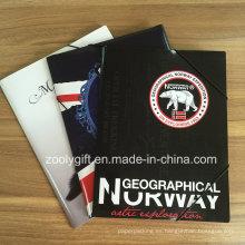 Papel impreso personalizado Carpeta de archivos de bolsillo A4 Archivo de papel de oficina