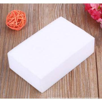 Platos limpios de esponja de melamina