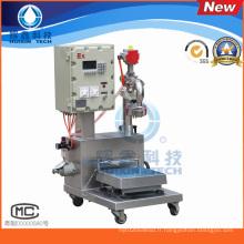 Machine de remplissage de pesage liquides chimiques