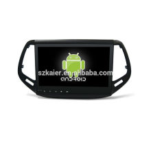 Quatro núcleos! Dvd do carro Android 6.0 para bússola com 10.1 polegadas touch screen capacitivo / gps / espelho / dvr / tpms / obd2 / wifi / 4g