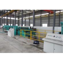 Linha de produção do controle do PLC do servo cortado ao comprimento