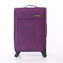 20''24''28'' four wheels aluminum trolley travel luggage