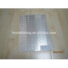 Plaque de roulement en aluminium 3 barres 1mm 2mm 3mm 4mm