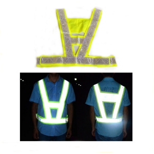 Breathable Reflective Safety Vest XXL for Running