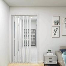 Modern House White Plastic PVC Folding Sliding Doors