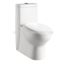 CB-9504 China manufacturer Porcelain One Piece Water Closet concealed trap way toilet slave