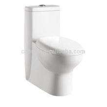 CB-9504 China fabricante Porcelana One Piece Water Closet escondido trap way toilet esclavo