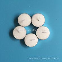 Bougie chauffe-plat blanche en cire Pure Wax