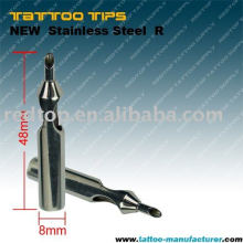 New Sterile Stainless Steel Tattoo Tip(R)