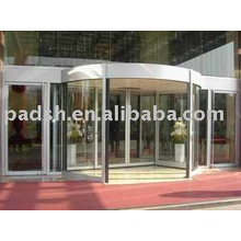stainless steel 2-wing automatic revolving door