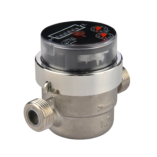 Volumetric Rotary Piston Residential Drinking Water Meters Stainless Steel Water Meters