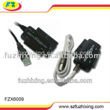 All-round USB 2.0 to 2.5''/3.5'' SATA + IDE Converter cable