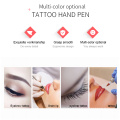 Hand Control Eyeliner Eyebrow Lip Temporary Manual Tattoo Pen