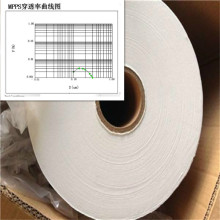 0.3u Porosidad H10 Filtro Papel-Fibra de vidrio Material medio