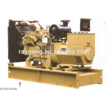 Generador diesel de 30KW cunnins fijado 100% de cobre y salida 400V tres fases