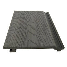 Bammax Factory Cheap Price 150*20 mm Exterior Decorative Wall Panels Wood Plastic Composite Outdoor Siding WPC Cladding Board