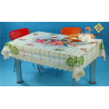 Independent Design Square Shape PVC Transparent Tablecloth