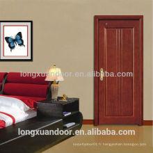 Porte en bois de porte principale, porte en bois, porte de chambre intérieure
