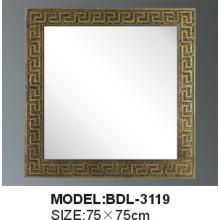 Miroir en verre d'argent de salle de bains d'épaisseur de 5mm (BDL-3119)