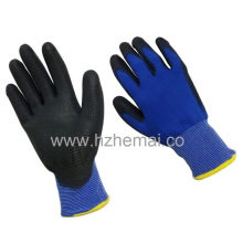 13G U3 Style Polyester Palm Coated PU ESD Work Glove