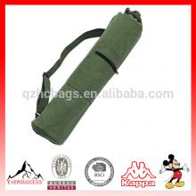Tapis de yoga de toile de qualité en gros avec le sac, sac de sport de tapis de yoga