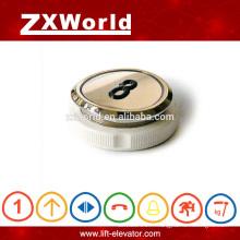 Interrupteur de pression à bouton-poussoir élévateur arrondissant déshérence de Electric FACTORY