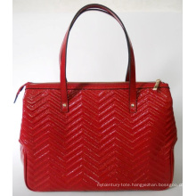 Guangzhou Supplier Designer Embossed Leather Women Handbag (185)