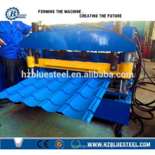 Manufacturing 828 Type Metal Steel Step Roof Tile Panel Machine, Steel Profile Roof Roll Forming Machine