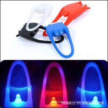 Bicicleta de silicona LED