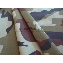 Herringbone Military Camouflage Canvas Fabric for Ireland