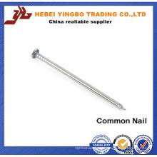 Fastener-007 Galvanized White Zinc Common Nails