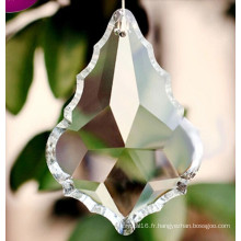 Pendentif de quartz de décoration de mariage Pendentif de lustre de cristal