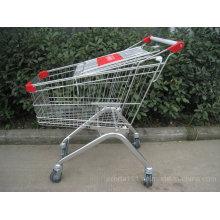 Магазинная Тележкаа супермаркета с Гальванизированным покрытием