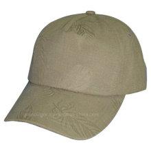 Gorra de béisbol baja del perfil de la inestructura con el logotipo Debossed de encargo