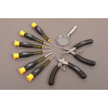 Las herramientas de precisión de 9PCS fijaron el OEM de las herramientas de la mano del destornillador del conductor del perno