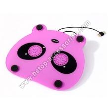 Panda Pattern Laptop Cooler Cooling 2 Fan